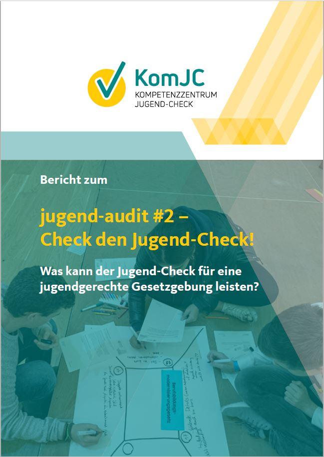 Titelblatt Bericht jugend-audit #2